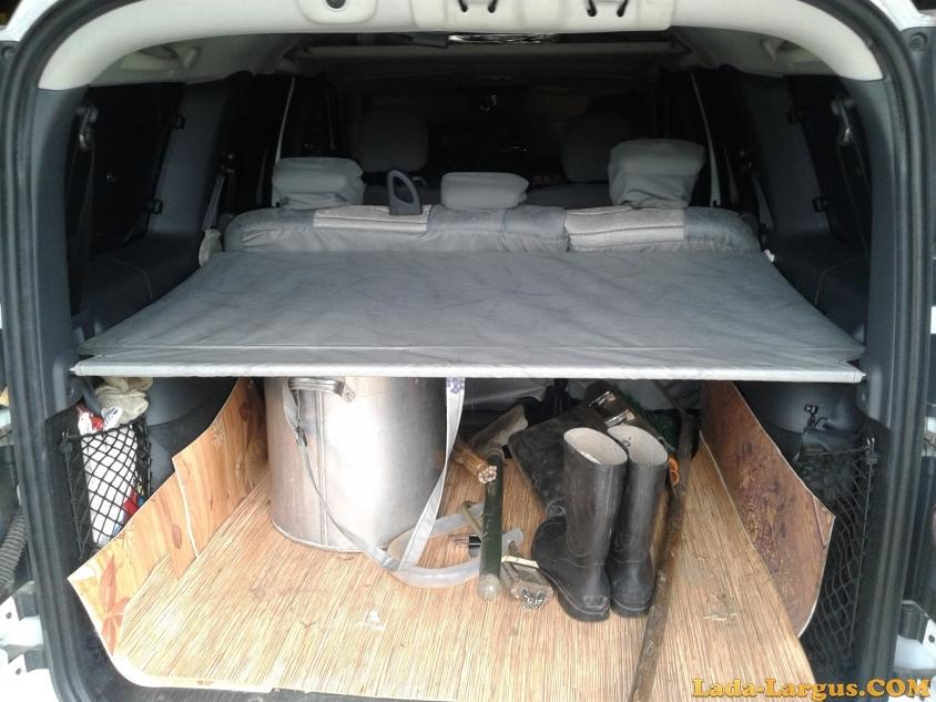Как сделать шторку на багажник