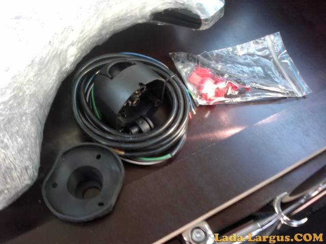 Установка тягово сцепного устройства (фаркопа ) на Лада Ларгус DRIVE 2 34