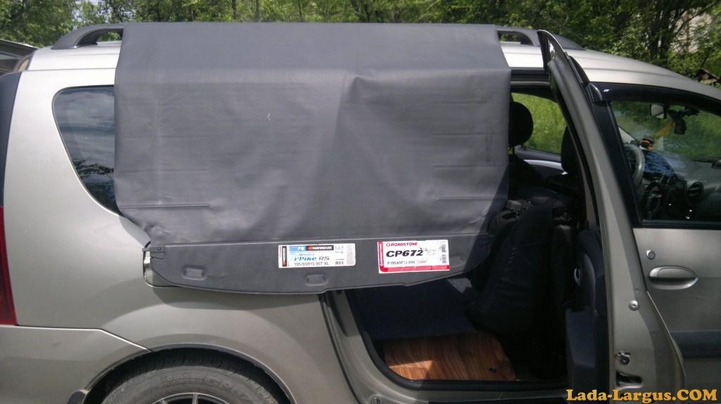 Шторка багажника ларгус 119