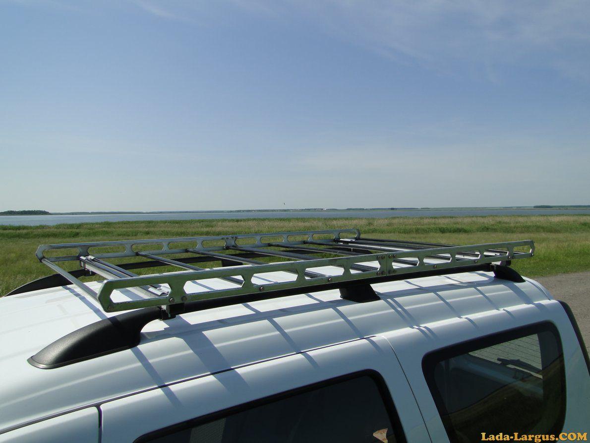 Багажник на крышу своими руками лада