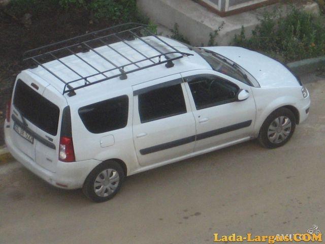 ларгус с багажником на крыше фото