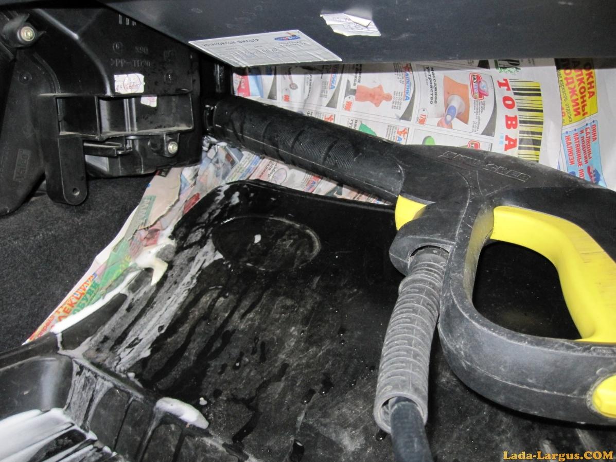 Чистка кондиционера в машине своими руками рено логан 54