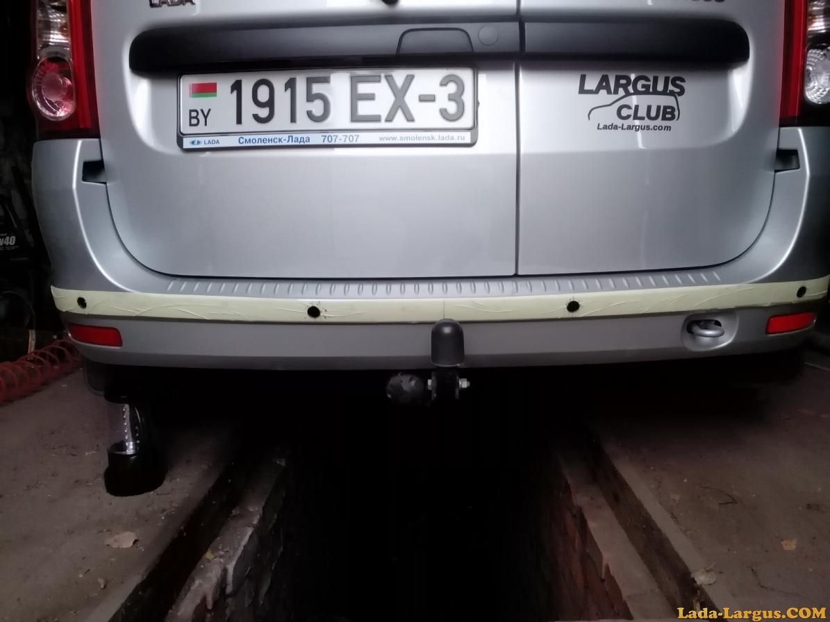 Парктроники на Гранту лифтбек - Лада Гранта (Lada Granta) - Lada