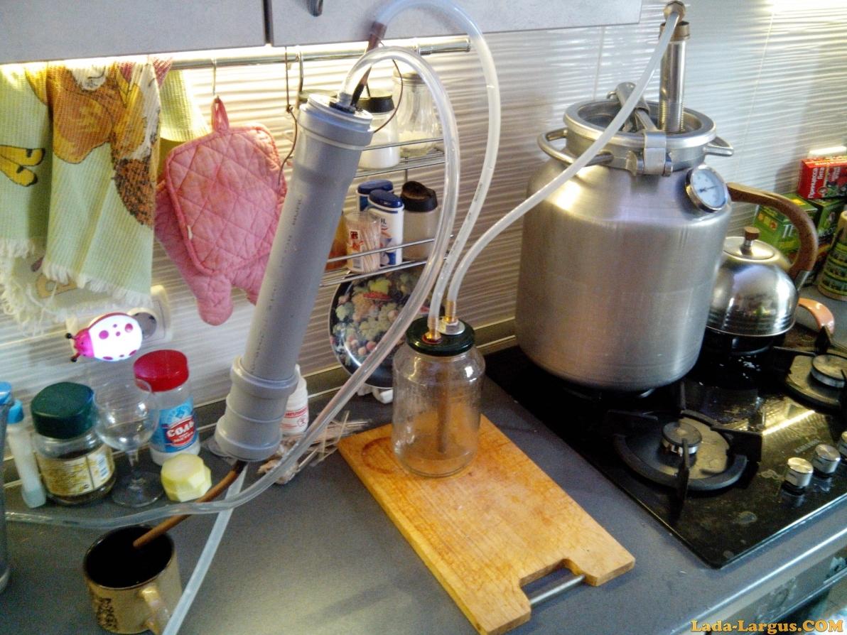 Как сделать самогонный аппарат в домашних условиях - АлкоФан 75
