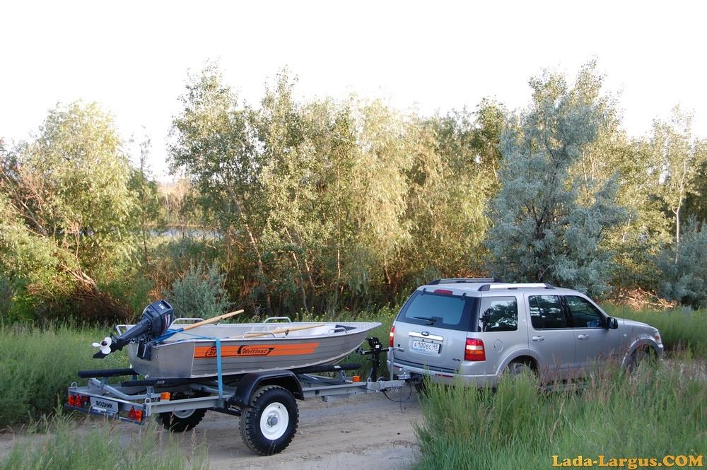 прицепы для лодок водник
