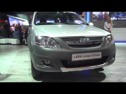 Lada Largus Cross на ММАС 2014